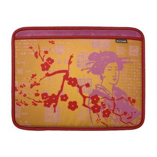 Vintage Asian Collage MacBook Air Sleeve