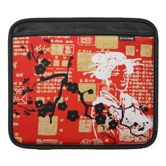 Vintage Asian Collage iPad Sleeves