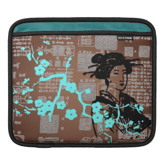 Vintage Asian Collage Sleeve For iPads