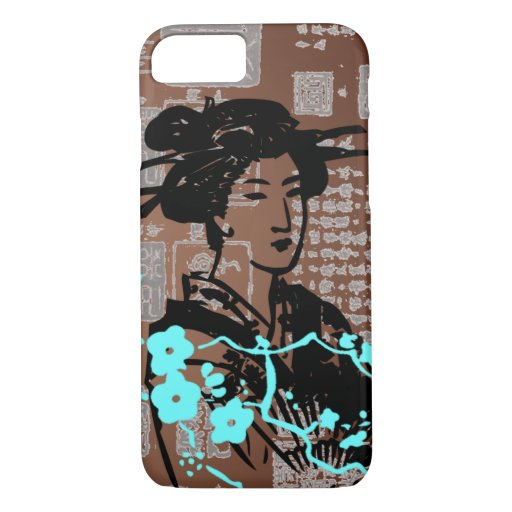 Vintage Asian Collage iPhone 7 Case