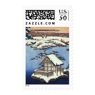 Vintage Asian Fine Art Holiday Postage