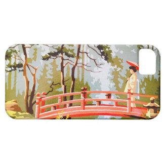 Vintage Asian PBN Geisha Scenic iPhone 5/5s Case