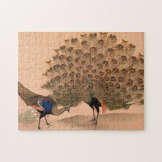 Vintage Asian Peacock Puzzle