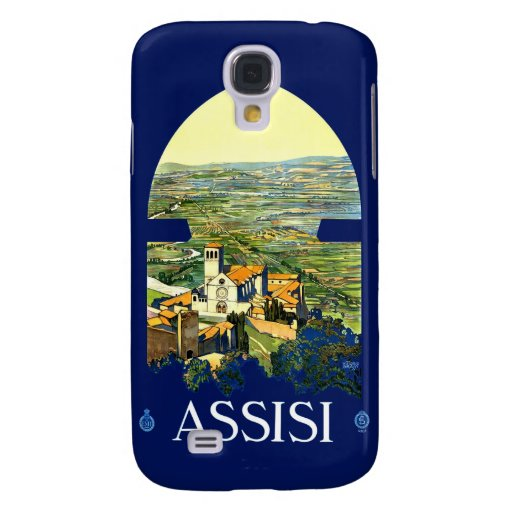 Vintage Assisi Italy Travel 3G Spec Galaxy S4 Cases