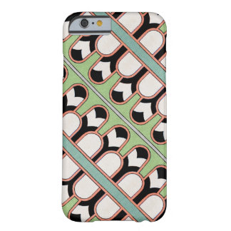 Vintage Assyrian Art Deco Geometric Pattern Mint Barely There iPhone 6 Case