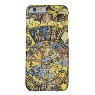 Vintage Astrology, Renaisance Zodiac Wheel, 1555 Barely There iPhone 6 Case