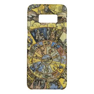 Vintage Astrology, Renaisance Zodiac Wheel, 1555 Case-Mate Samsung Galaxy S8 Case