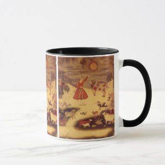 Vintage Astronomy, Antique Asian Celestial Art Mug