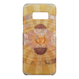 Vintage Astronomy, Antique Copernican Solar System Case-Mate Samsung Galaxy S8 Case