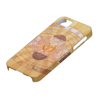 Vintage Astronomy, Antique Copernican Solar System iPhone SE/5/5s Case