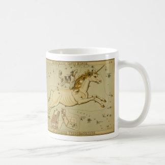 Vintage astronomy astrology Monoceros unicorn Coffee Mug