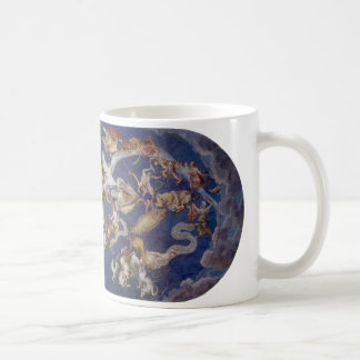 Vintage Astronomy Celestial Constellations Fresco Mugs