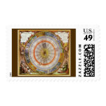 Vintage Astronomy Celestial Copernican Planisphere Postage