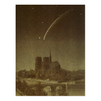Vintage Astronomy, Celestial, Donati Comet, 1858 Postcard