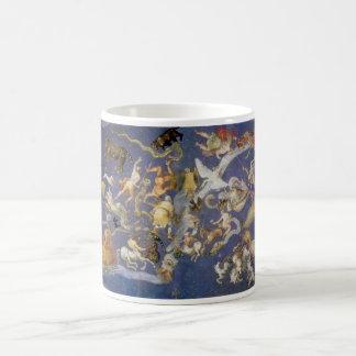 Vintage Astronomy Celestial Fresco, Constellations Coffee Mug