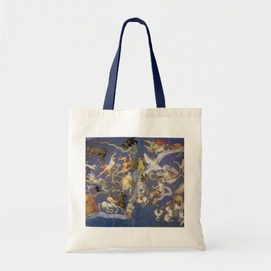 Vintage Astronomy Celestial Fresco, Constellations Tote Bag
