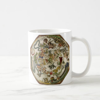 Vintage Astronomy, Celestial Map by Peter Apian Classic White Coffee Mug