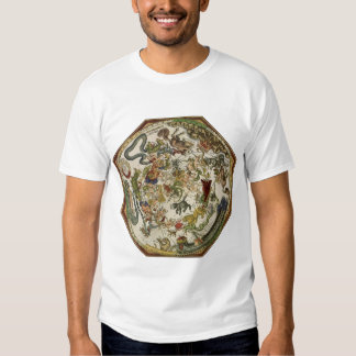 Vintage Astronomy, Celestial Map by Peter Apian Tee Shirt