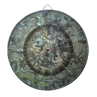 Vintage Astronomy Celestial Northern Constellation Dart Boards