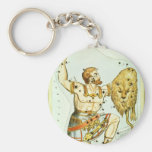 Vintage Astronomy, Celestial, Orion Constellation Keychain
