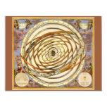 Vintage Astronomy Celestial Planet Planetary Orbit Custom Invitation