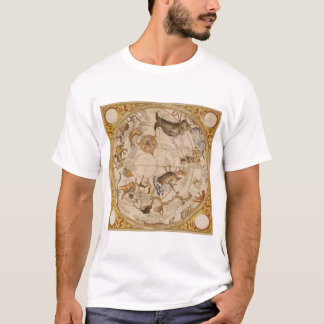 Vintage Astronomy, Celestial Planisphere Star Map T-Shirt