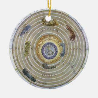 Vintage Astronomy Celestial Ptolemaic Planisphere Ornaments