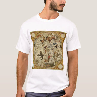 Vintage Astronomy, Celestial Sky Map Star Chart T-Shirt