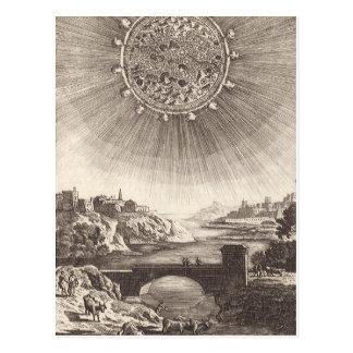 Vintage Astronomy, Celestial Sky, Sun by Mallet Postcards