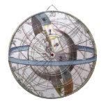 Vintage Astronomy, Celestial Zodiac Planisphere Dartboard