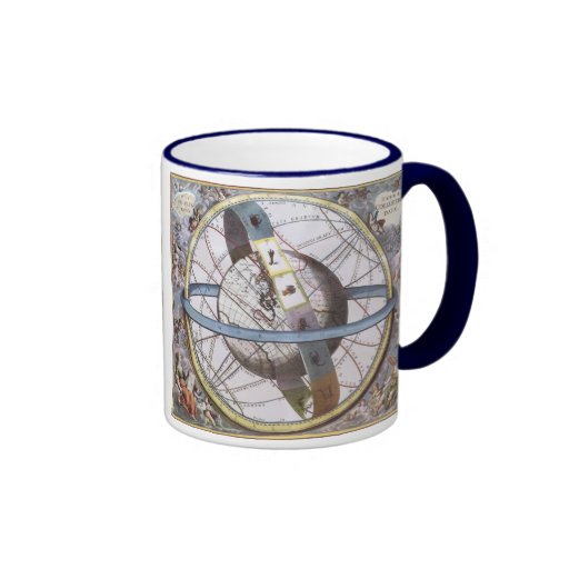 vintage astronomy celestial zodiac planisphere coffee mug zazzle. Black Bedroom Furniture Sets. Home Design Ideas