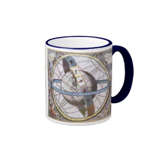 vintage astronomy celestial zodiac planisphere coffee mug zazzle. Black Bedroom Furniture Sets. Home Design Ideas