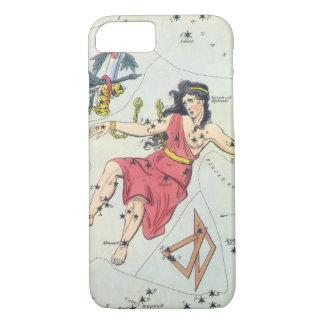 Vintage Astronomy, Constellation Stars, Andromeda iPhone 8/7 Case