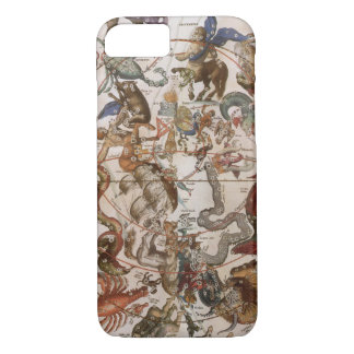 Vintage Astronomy, Constellations of Southern Sky iPhone 8/7 Case