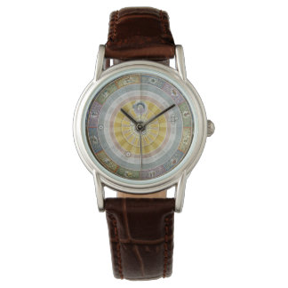 Vintage Astronomy Copernican System Wristwatch