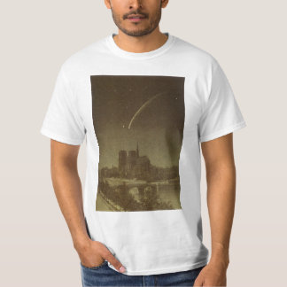 Vintage Astronomy, Donati Comet over Paris, 1858 T-Shirt