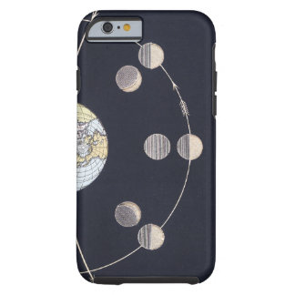 Vintage Astronomy, Phases of the Moon with Sun iPhone 6 Case