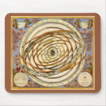Vintage Astronomy Planets Orbit, Andreas Cellarius Mouse Pad