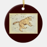 Vintage Astronomy, Ursa Major Constellation, Bear Christmas Ornament