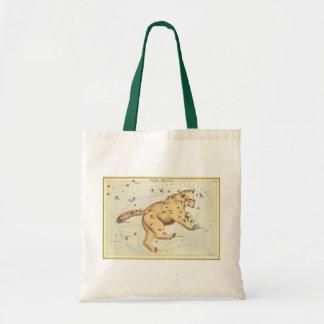 Vintage Astronomy, Ursa Major Constellation, Bear Tote Bag