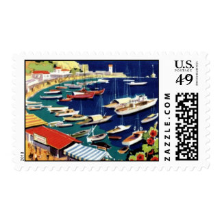Vintage Athens Greece Travel Postage