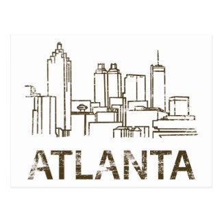 Vintage Atlanta Postcard