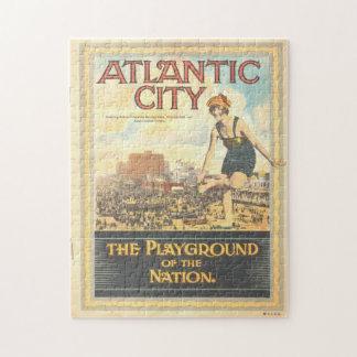 Vintage Atlantic City 1920s Puzzle