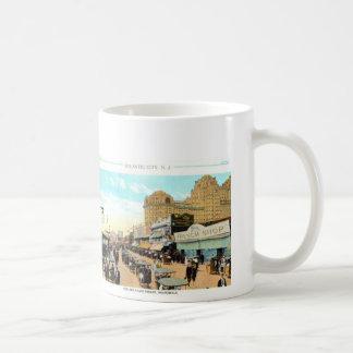 Vintage Atlantic City Beach and Boardwalk Mug