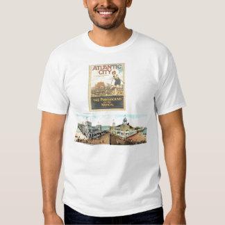 Vintage Atlantic City Boardwalk Piers Shirt