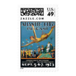 Vintage Atlantic City Pageant Postage Stamp