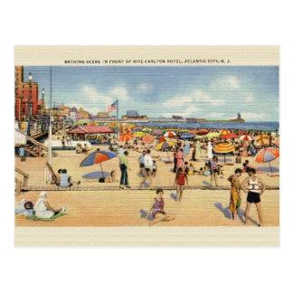 Vintage Atlantic City Ritz Carlton Post Card