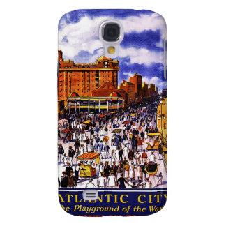Vintage Atlantic City Travel 3G Spec Galaxy S4 Cover