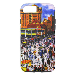 Vintage Atlantic City Travel Tough iPhone 7 Case
