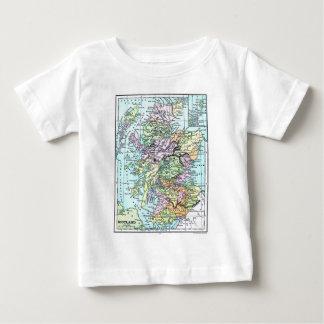 Vintage Atlas Map - Scotland Baby T-Shirt